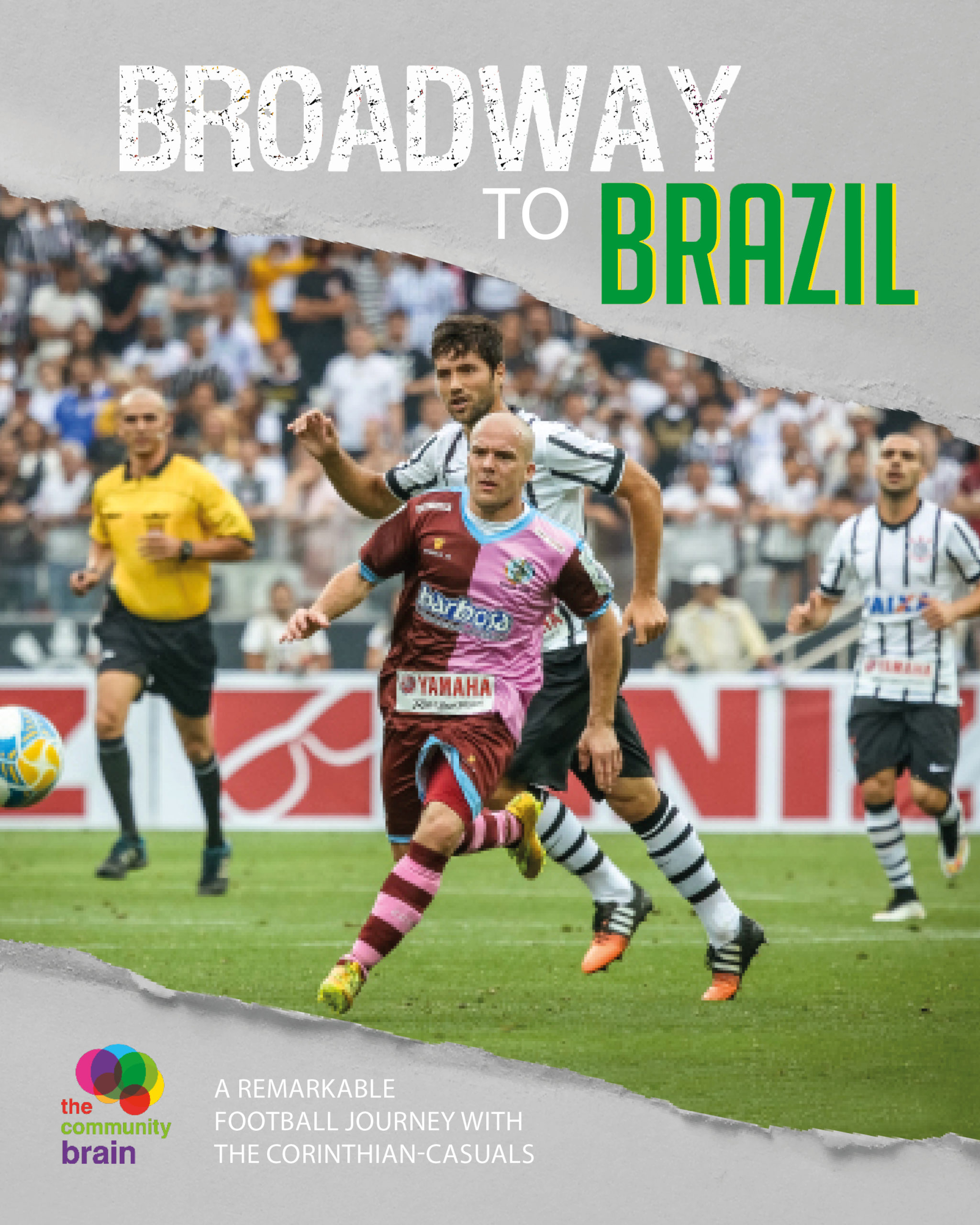 book cover for Broadway to Brazil