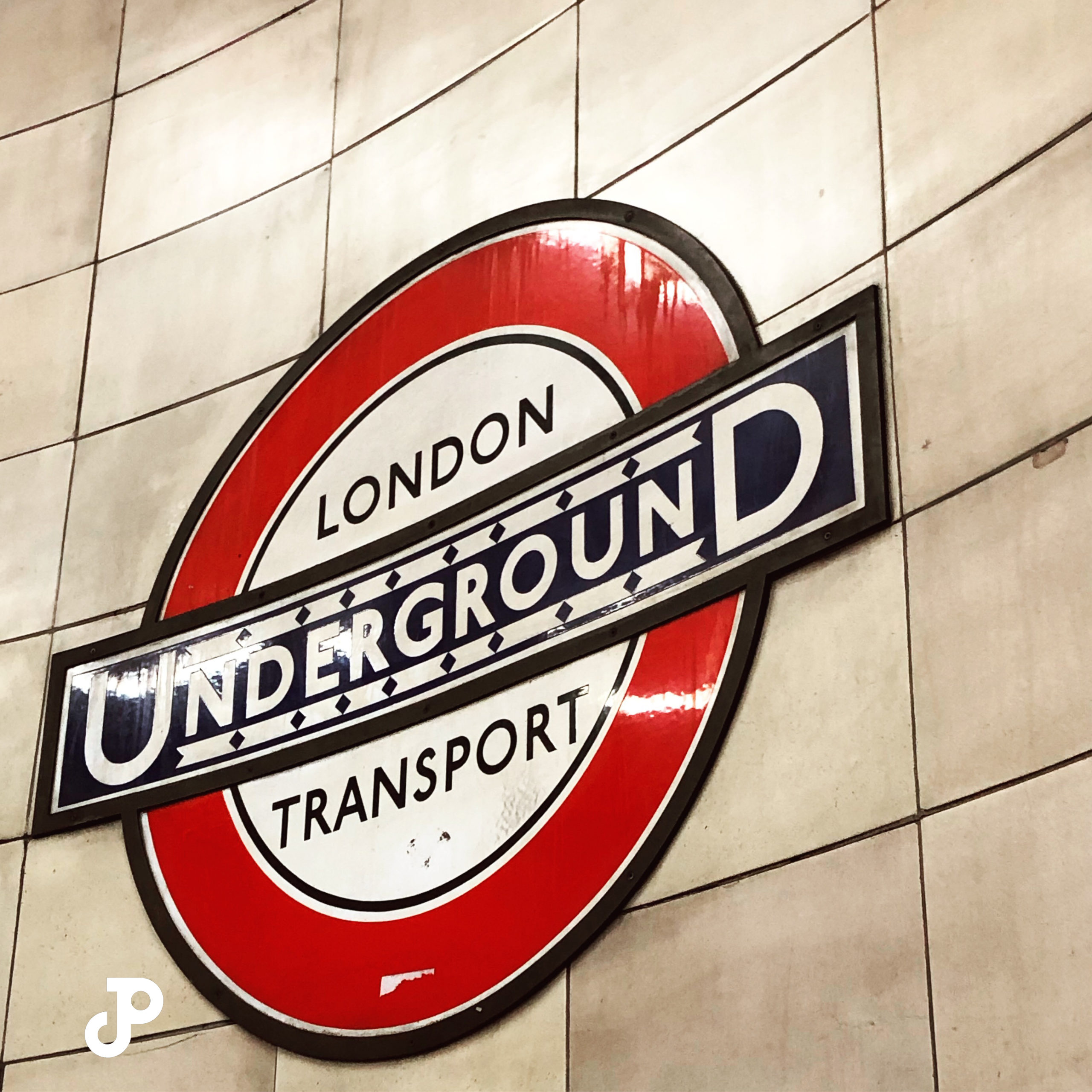 A London Underground Transport Sign