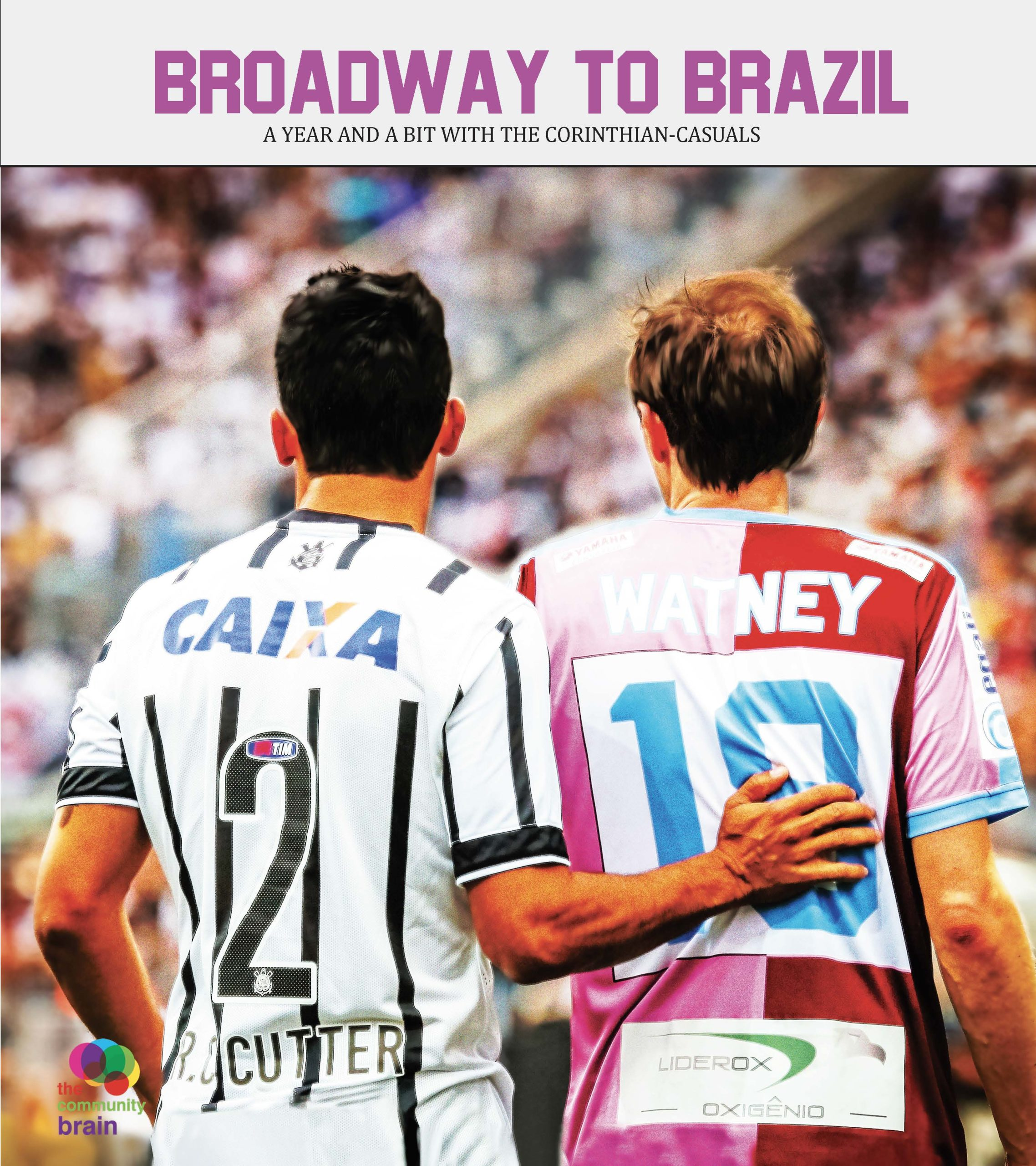 an early cover design for Broadway to Brazil